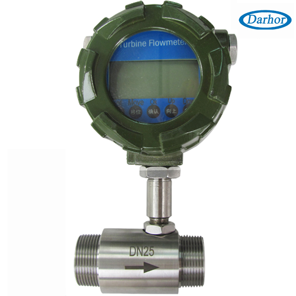 DH500 turbine meter with 4-20mA or pluse
