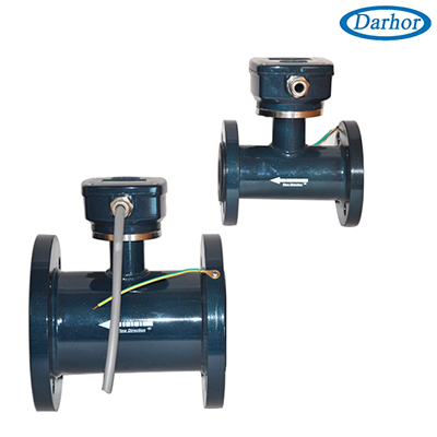 DH1010 romote control type flowmeter magnetic