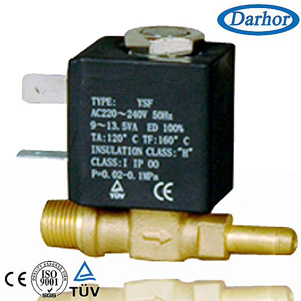 Household applicances solenoid valve