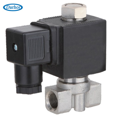 DHSM12 Normally open miniature solenoid valve