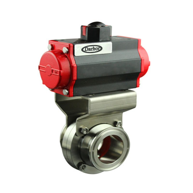 Pneumatic Sanitary Ball Valve