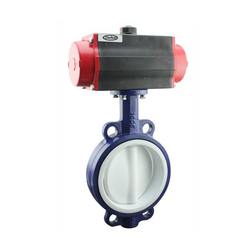 Pneumatic Soft Seal Butterfly Valve