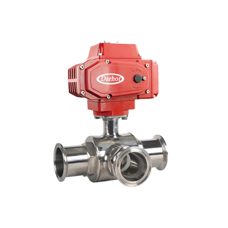 Electric Sanitary Ball Valve