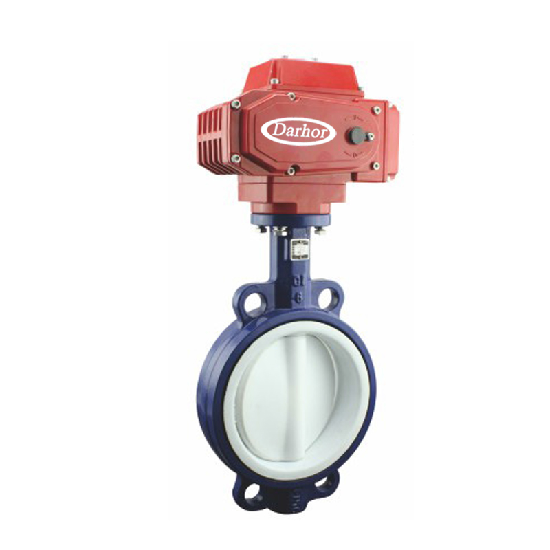 Electric Fluorine Butterfly Valve