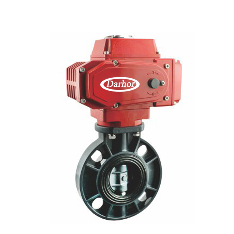 Electric PVC Plastic Butterfly Valve