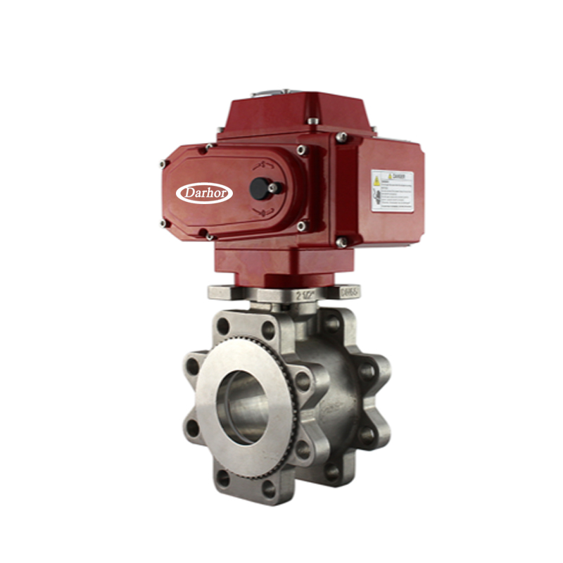 Electric Thin type Ball Valve