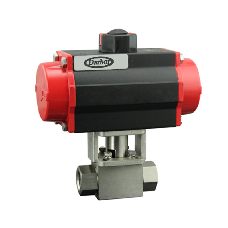 Pneumatic High Pressure Ball Valve