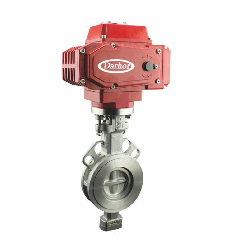 Electric Hard Seal Butterfly Valve