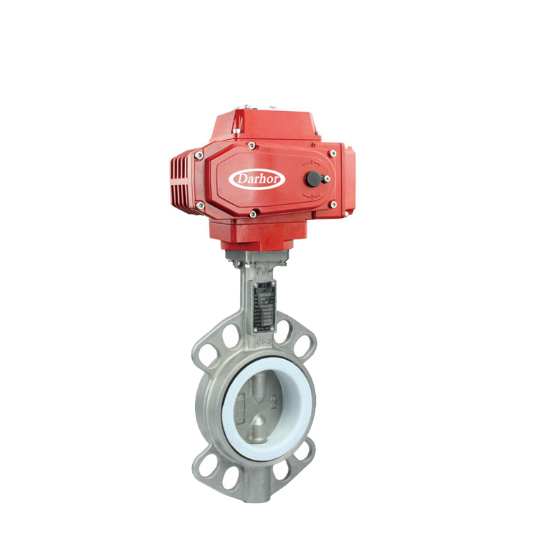 Electric Stainless Steel Butterfly Valve