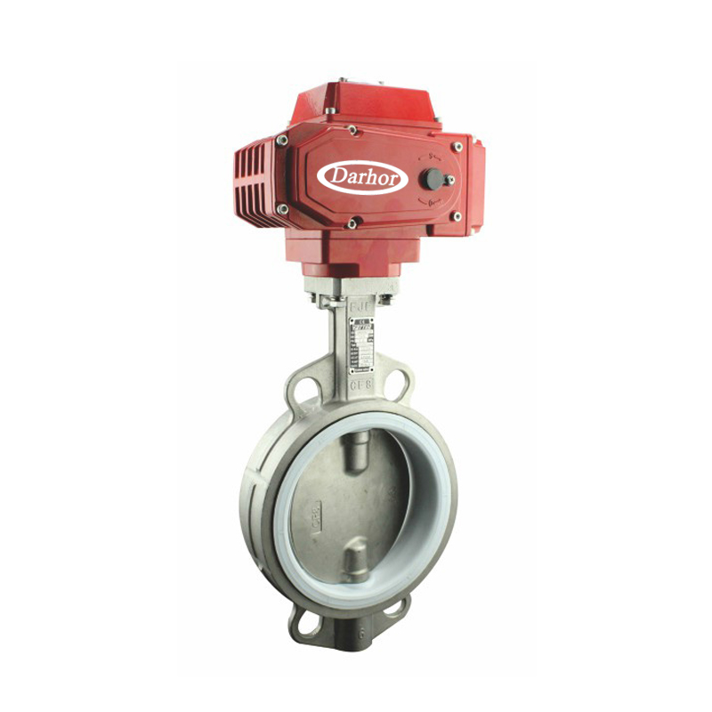 Electric Metal Sealing Butterfly Valve